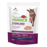 Natural Trainer Adult Sterilised Carni Bianche 300 gr