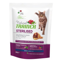 Natural Trainer Adult Sterilised Prosciutto Crudo 300 gr