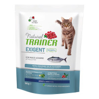 Natural Trainer Exigent Cat con Pesce dell'Oceano 300 Gr.