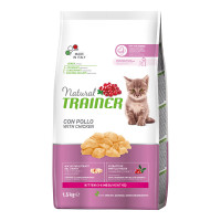 Natural Trainer Kitten con Pollo Fresco 1,5 Kg