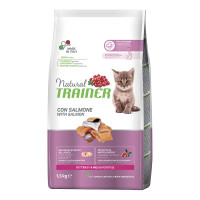 Natural  Trainer Kitten con Salmone 1,5 Kg