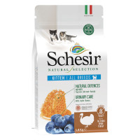 Schesir Natural Selection cat kitten Tacchino 1,4 kg