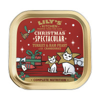 Lily's Kitchen Christmas Spectacular Turkey & ham paté 80 gr