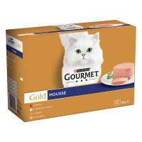 Gourmet Gold Gatto Mousse 12 x 85 gr.