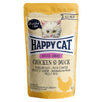Happy Cat All Meat Kitten- Junior Pollo e Anatra 100 gr.