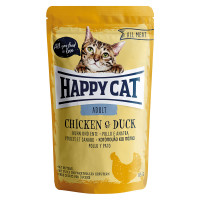 Happy Cat All Meat Adult Pollo e Anatra 85 gr.