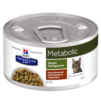 Hill's Prescription Diet Metabolic Spezzatino con Pollo e Verdure 82 gr.