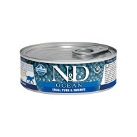 N&D Cat Ocean Life Tuna & Shrimps Adult 80 gr.