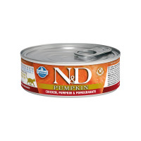 N&D feline Chicken, Pumpkin & Pomegranate 80 gr.