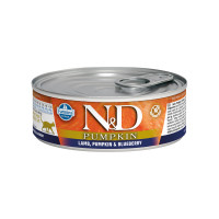 N&D feline Lamb, Pumpkin & Blueberry 80 gr.