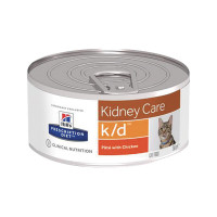 Hill's Prescription Diet Feline k/d con Pollo 82 gr.