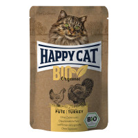 Happy Cat Bio Organic Pollo con Tacchino 85 gr.
