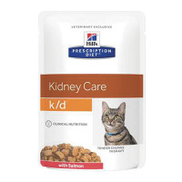 Hill's Prescription Diet Feline k/d  con Salmone 85 gr.