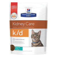 Hill's Prescription Diet k/d Alimento per Gatti con Tonno 700 Gr.