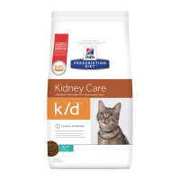 Hill's Prescription Diet k/d Alimento per Gatti con Tonno 1,5 Kg