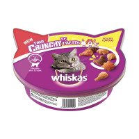 Whiskas Trio Crunchy Treats Poultry Flavours 55 gr.