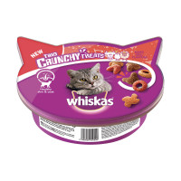 Whiskas Trio Crunch Treats Mixed Grill Flavours 55 gr.