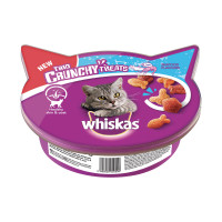 Whiskas Trio Crunchy Treats Seafood Flavours 55 gr.