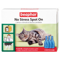 Beaphar No stress Spot-On gatto 3 Pipette