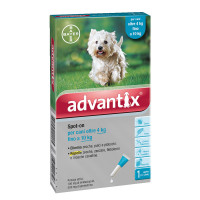 Advantix Spot-On cane 4-10 kg 1 pipetta