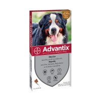 Advantix Spot-On cane 40-60 kg 4 pipette