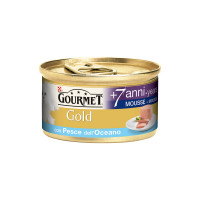 Gourmet Gold Mousse 7+ 85 gr