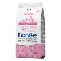Monge All Breeds Adult Maiale, Riso e Patate 2,5 kg