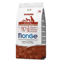 Monge All Breeds Puppy&Junior Agnello e Riso 12 kg