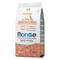 Monge All Breeds Puppy&Junior Salmone e Riso 12 kg