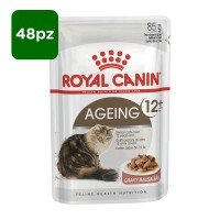 Royal canin Ageing 12+ in salsa 48 x 85 gr