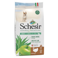 Schesir Natural Selection dog adult small&toy Tacchino 2.24 kg