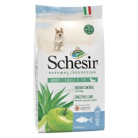 Schesir Natural Selection dog adult small&toy Tonno 2,24 kg.