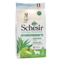 Schesir Natural Selection dog adult small&toy Agnello 2.24 kg.