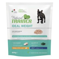 Natural Trainer Ideal Weight Small & Toy Adult con Carni bianche 800 gr.