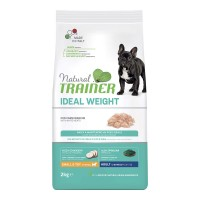 Natural Trainer Ideal Weight Small & Toy Adult con Carni bianche 2 kg.