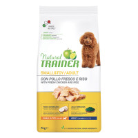 Natural Trainer Small & Toy Adult con Pollo fresco 7 kg