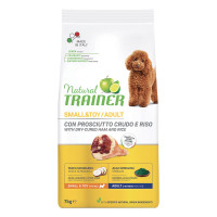 Natural Trainer Dog Adult Mini con Prosciutto crudo 7kg