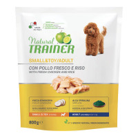 Natural Trainer Small & Toy Adult con Pollo fresco 800 gr.