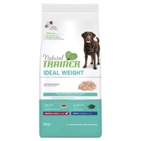Natural Trainer Ideal Weight Medium & Maxi Adult con Carni bianche 12 kg.