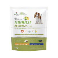Natural Trainer Sensitive Plus Small&Toy Adult con Coniglio e Riso 800 gr