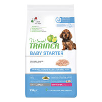 Natural Trainer Baby Starter Dog All Size con Carni bianche 1,5kg