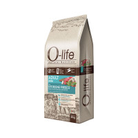O-life Dog Adult Mini con Storione fresco 2 kg