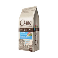 O-life Dog Adult Medium Large con Storione fresco 2 kg