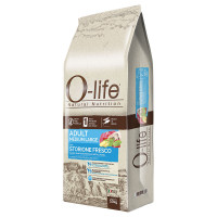 O-life Dog Adult Medium Large con Storione fresco 10 kg