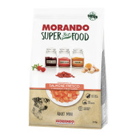 Morando SuperPetFood Adult Mini crocchette Salmone 2 kg