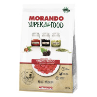Morando SuperPetFood Adult Medium crocchette Manzo 2,5 kg