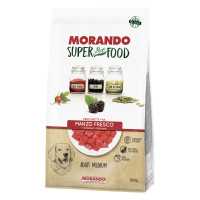 Morando SuperPetFood Adult Medium crocchette Manzo 12 kg