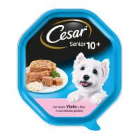 Cesar Senior 10+ Vitello e Riso 150 gr