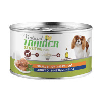 Natural Trainer Dog Sensitive Plus Small&Toy Adult con Cavallo 150 gr.