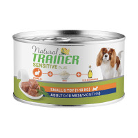 Natural Trainer Dog Sensitive Plus Small&Toy Adult con Coniglio 150 gr.
